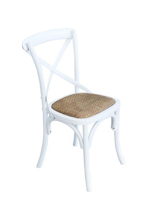 Black Cross Back Chair