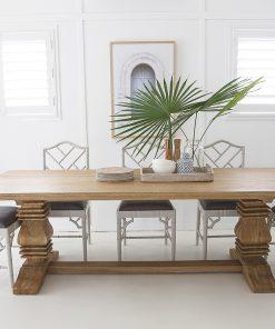 Newport Rectangular Pedestal Table