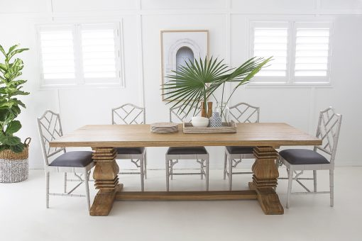Newport Rectangular Pedestal Table