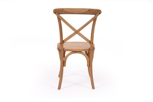 Provincial cross back chair