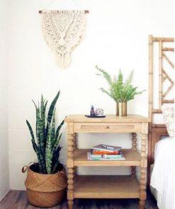 Stradbroke Bobbin Bedside Table
