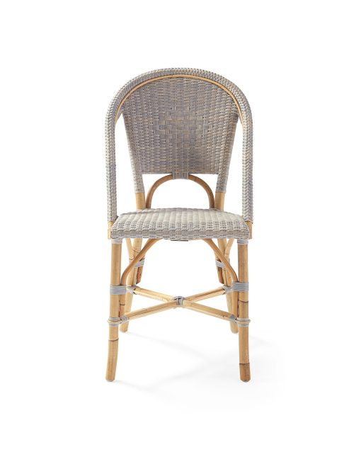 Sorrento Washed Grey Arm Chair