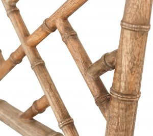 Chippendale Bar Stool Weathered Oak Abide Interiors