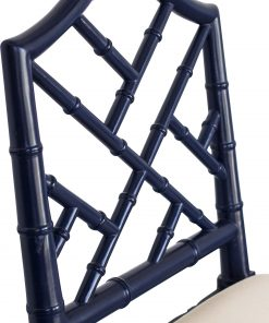 Chippendale Counter Stool Navy Abide Interiors