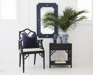 Chippendale Armchair Black Abide Interiors
