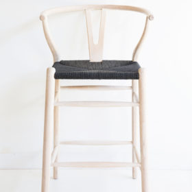 wishbone counter stool
