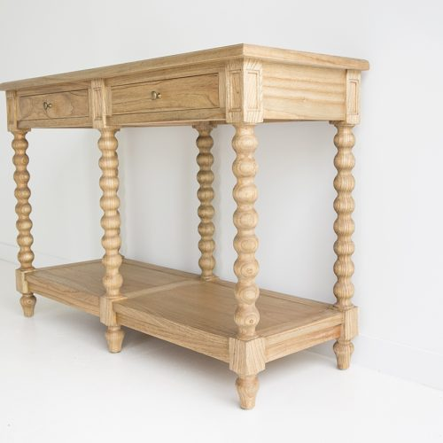 Bobbin Console Table