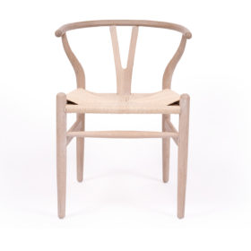 Wishbone Designer Replica Chair - Coastal Oak Image
