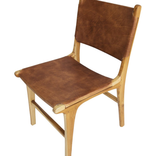 Pasadena Leather Side Chair