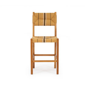 Sabai Woven Counter Stool - Natural Teak Image