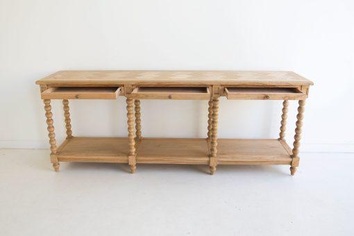 Stradbroke Bobbin Console table