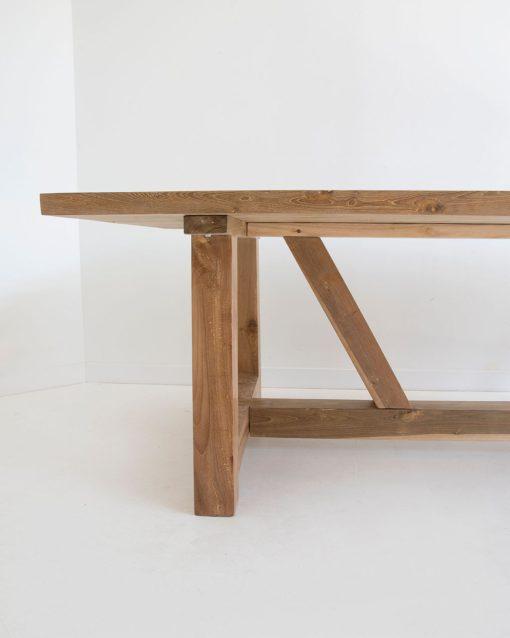 Reclaimed Teak Farmhouse Table