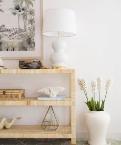 Palms Open console table