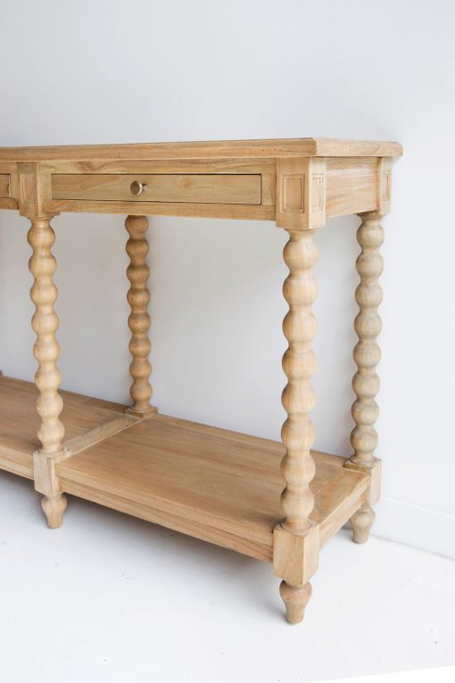 Stradbroke bobbin console table