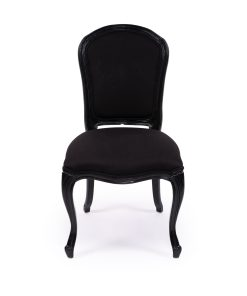 French Linen Upholstered Chair