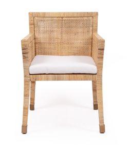 palms rattan armchair