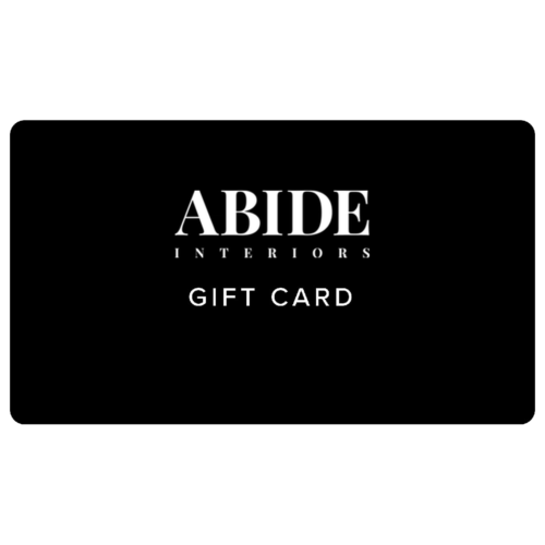 Abide Interiors Gift card