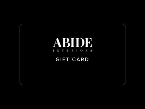 Abide Interiors Gift card