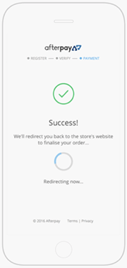 afterpay step 3