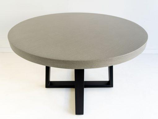 1.0 grey black Alta round table