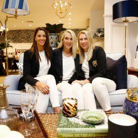 Serena, Sonja, Hannah instore
